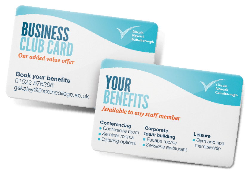 Business Club Benefits